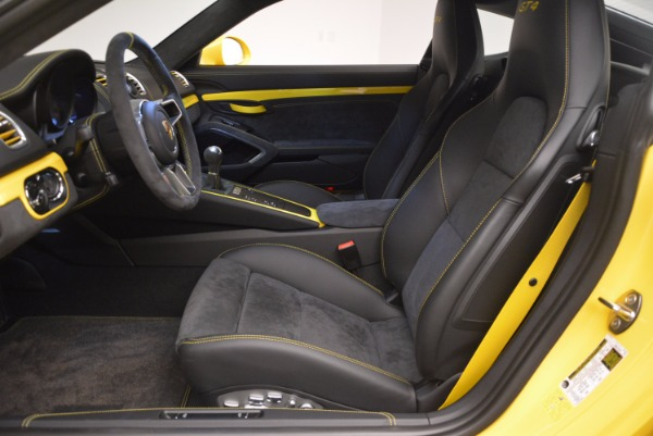 Used 2016 Porsche Cayman GT4 for sale Sold at Rolls-Royce Motor Cars Greenwich in Greenwich CT 06830 14