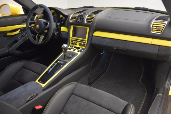 Used 2016 Porsche Cayman GT4 for sale Sold at Rolls-Royce Motor Cars Greenwich in Greenwich CT 06830 17