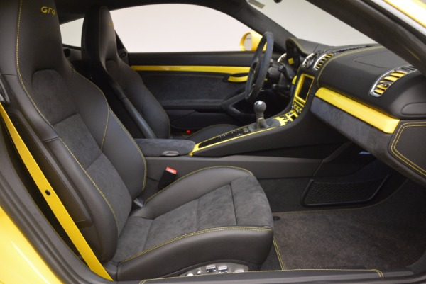 Used 2016 Porsche Cayman GT4 for sale Sold at Rolls-Royce Motor Cars Greenwich in Greenwich CT 06830 18