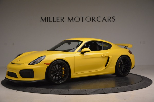 Used 2016 Porsche Cayman GT4 for sale Sold at Rolls-Royce Motor Cars Greenwich in Greenwich CT 06830 2