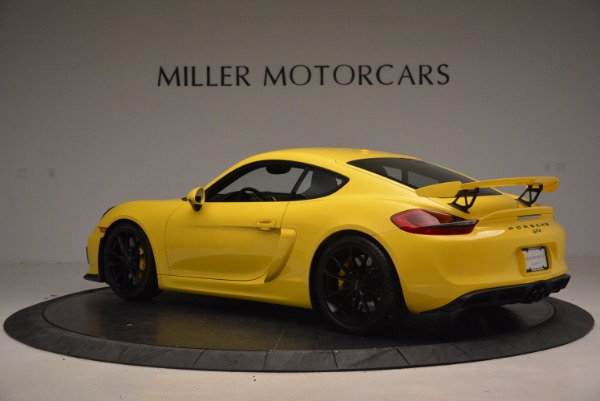 Used 2016 Porsche Cayman GT4 for sale Sold at Rolls-Royce Motor Cars Greenwich in Greenwich CT 06830 4
