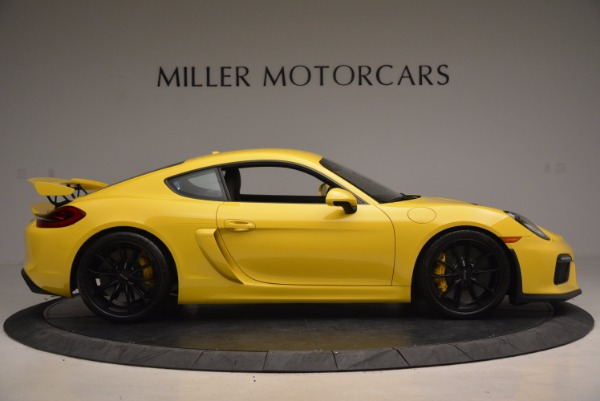 Used 2016 Porsche Cayman GT4 for sale Sold at Rolls-Royce Motor Cars Greenwich in Greenwich CT 06830 9