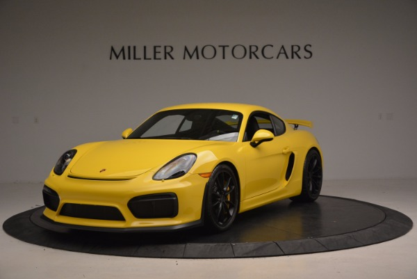 Used 2016 Porsche Cayman GT4 for sale Sold at Rolls-Royce Motor Cars Greenwich in Greenwich CT 06830 1