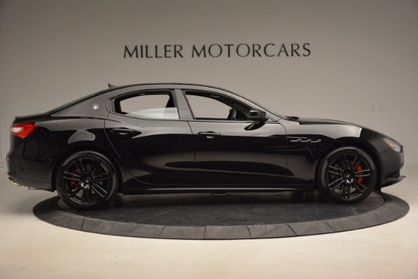 New 2017 Maserati Ghibli Nerissimo Edition S Q4 for sale Sold at Rolls-Royce Motor Cars Greenwich in Greenwich CT 06830 9