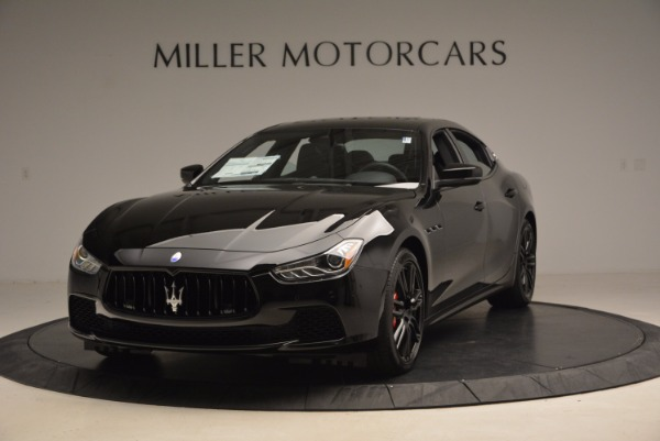 New 2017 Maserati Ghibli Nerissimo Edition S Q4 for sale Sold at Rolls-Royce Motor Cars Greenwich in Greenwich CT 06830 1