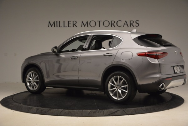 New 2018 Alfa Romeo Stelvio Ti Q4 for sale Sold at Rolls-Royce Motor Cars Greenwich in Greenwich CT 06830 4