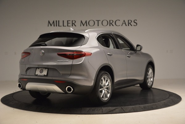 New 2018 Alfa Romeo Stelvio Ti Q4 for sale Sold at Rolls-Royce Motor Cars Greenwich in Greenwich CT 06830 7