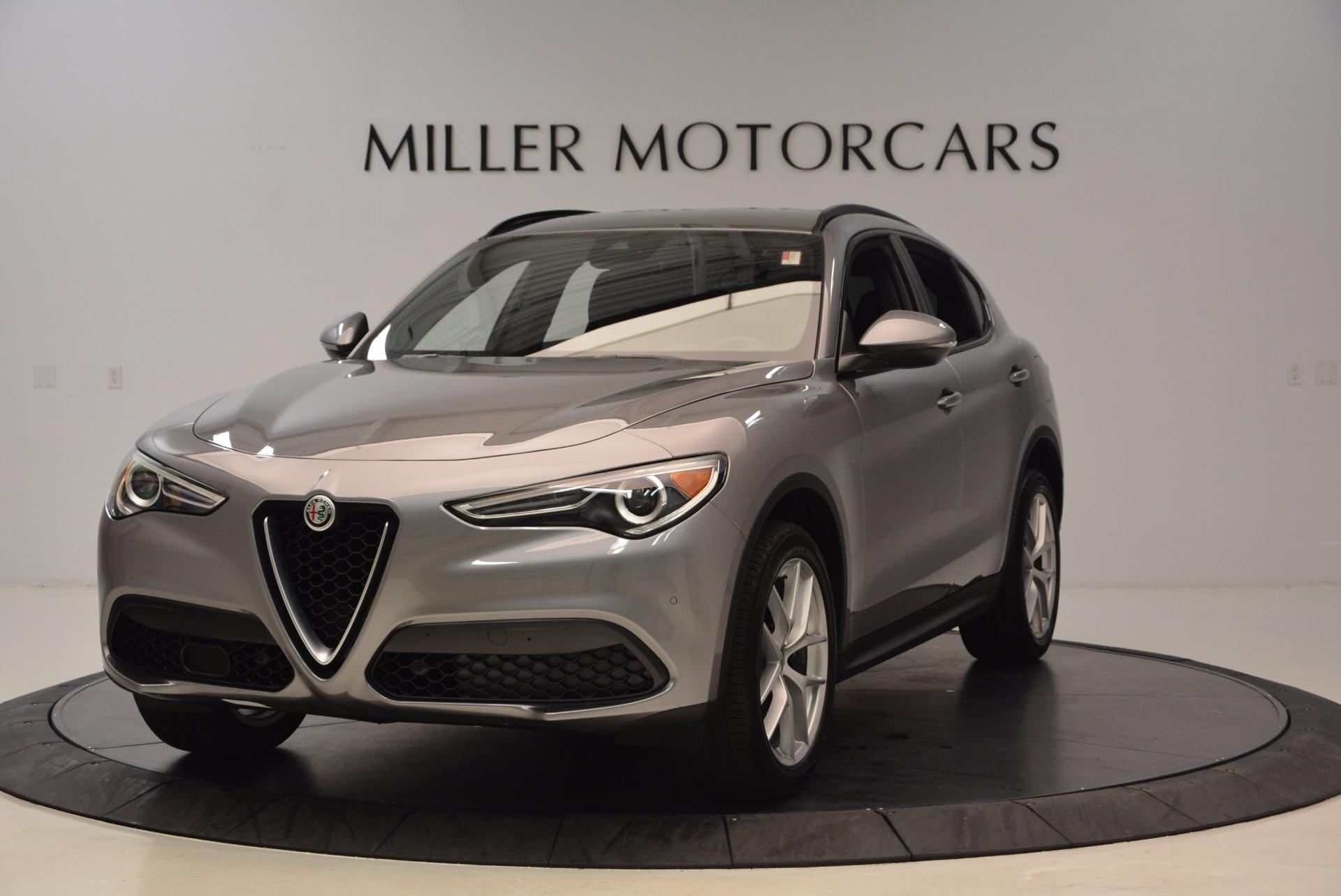 New 2018 Alfa Romeo Stelvio Ti Sport Q4 for sale Sold at Rolls-Royce Motor Cars Greenwich in Greenwich CT 06830 1