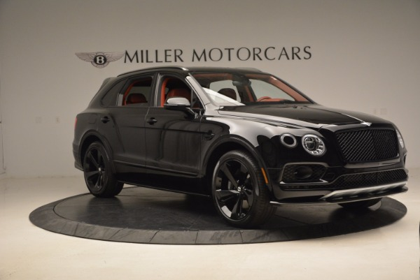 New 2018 Bentley Bentayga Black Edition for sale Sold at Rolls-Royce Motor Cars Greenwich in Greenwich CT 06830 11