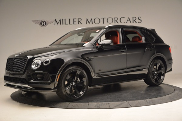 New 2018 Bentley Bentayga Black Edition for sale Sold at Rolls-Royce Motor Cars Greenwich in Greenwich CT 06830 3