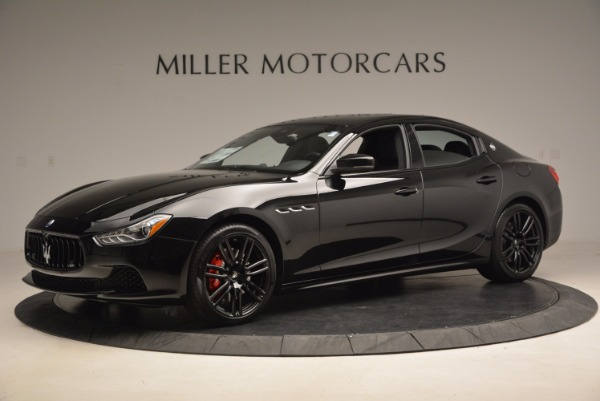 New 2017 Maserati Ghibli Nerissimo Edition S Q4 for sale Sold at Rolls-Royce Motor Cars Greenwich in Greenwich CT 06830 2