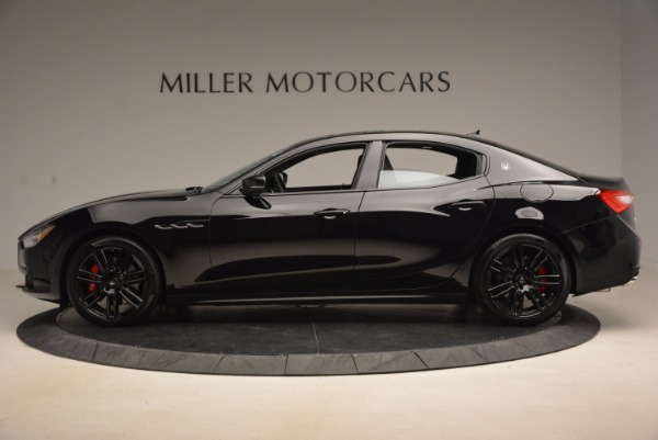 New 2017 Maserati Ghibli Nerissimo Edition S Q4 for sale Sold at Rolls-Royce Motor Cars Greenwich in Greenwich CT 06830 3
