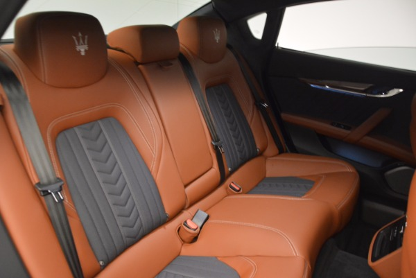 New 2017 Maserati Quattroporte S Q4 GranLusso for sale Sold at Rolls-Royce Motor Cars Greenwich in Greenwich CT 06830 23