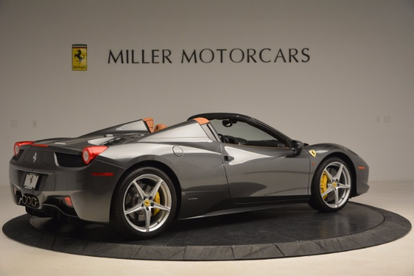 Used 2015 Ferrari 458 Spider for sale Sold at Rolls-Royce Motor Cars Greenwich in Greenwich CT 06830 8
