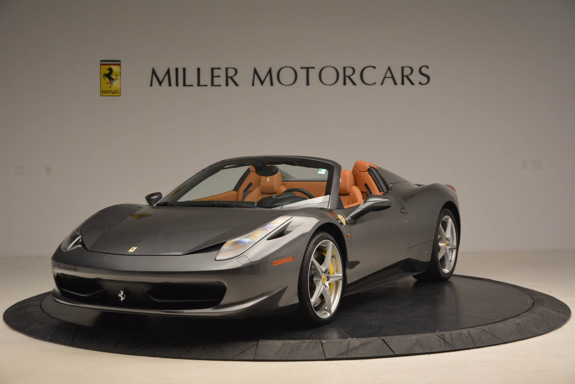Used 2015 Ferrari 458 Spider for sale Sold at Rolls-Royce Motor Cars Greenwich in Greenwich CT 06830 1