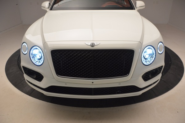 New 2018 Bentley Bentayga Onyx for sale Sold at Rolls-Royce Motor Cars Greenwich in Greenwich CT 06830 15