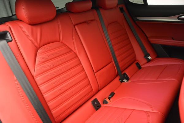 New 2018 Alfa Romeo Stelvio Ti Sport Q4 for sale Sold at Rolls-Royce Motor Cars Greenwich in Greenwich CT 06830 24