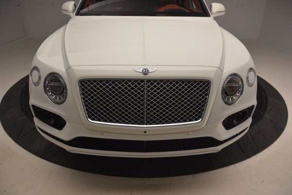 New 2018 Bentley Bentayga Onyx Edition for sale Sold at Rolls-Royce Motor Cars Greenwich in Greenwich CT 06830 13