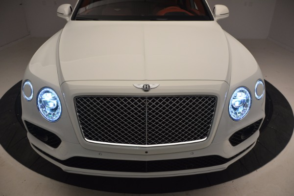 New 2018 Bentley Bentayga Onyx Edition for sale Sold at Rolls-Royce Motor Cars Greenwich in Greenwich CT 06830 16