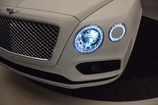 New 2018 Bentley Bentayga Onyx Edition for sale Sold at Rolls-Royce Motor Cars Greenwich in Greenwich CT 06830 17