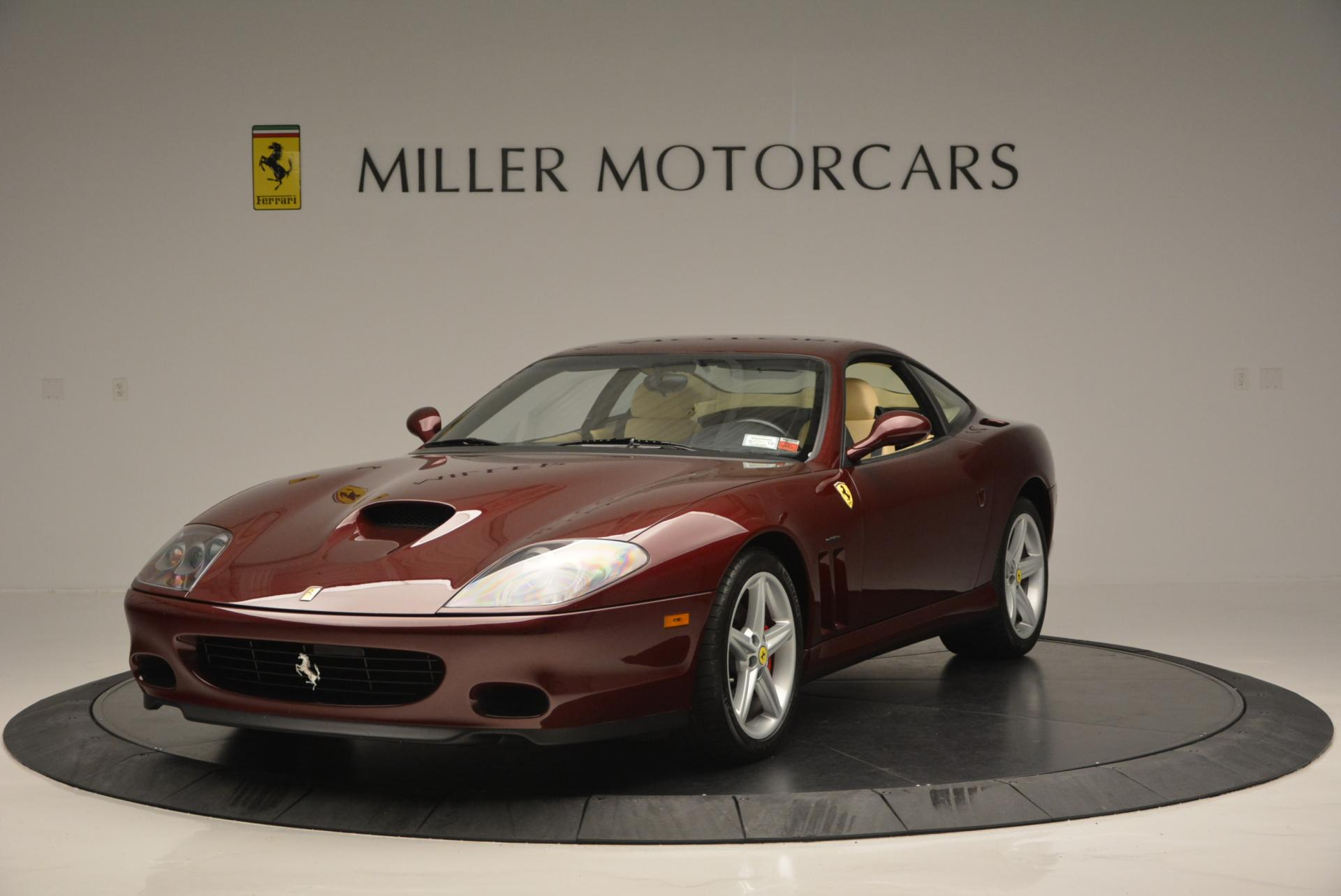 Used 2003 Ferrari 575M Maranello 6-Speed Manual for sale Sold at Rolls-Royce Motor Cars Greenwich in Greenwich CT 06830 1