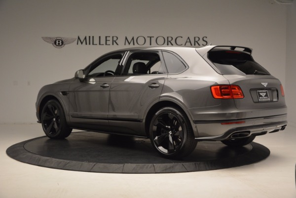 New 2018 Bentley Bentayga Black Edition for sale Sold at Rolls-Royce Motor Cars Greenwich in Greenwich CT 06830 5
