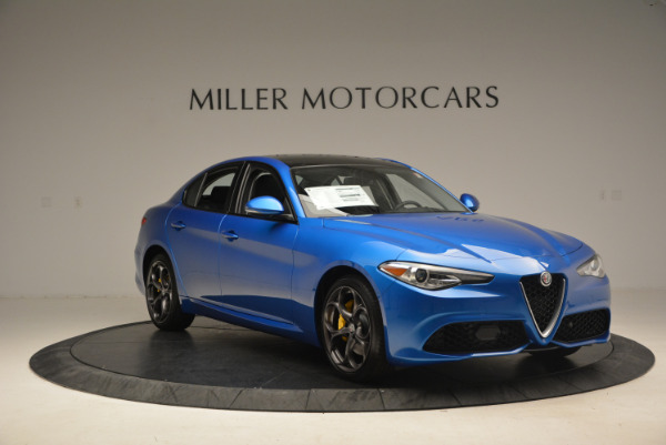New 2017 Alfa Romeo Giulia Ti Sport Q4 for sale Sold at Rolls-Royce Motor Cars Greenwich in Greenwich CT 06830 11