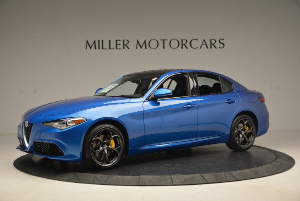 New 2017 Alfa Romeo Giulia Ti Sport Q4 for sale Sold at Rolls-Royce Motor Cars Greenwich in Greenwich CT 06830 2