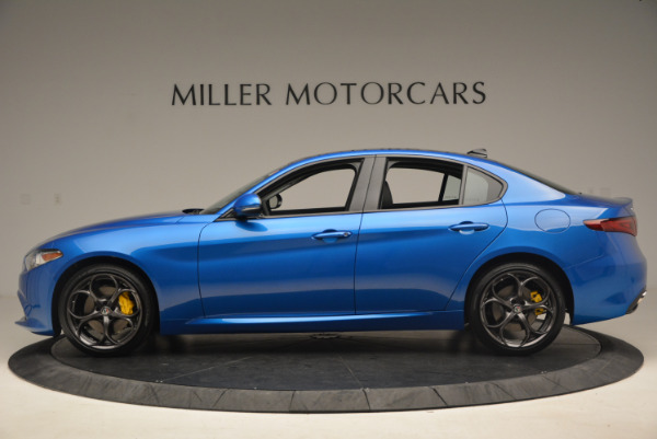 New 2017 Alfa Romeo Giulia Ti Sport Q4 for sale Sold at Rolls-Royce Motor Cars Greenwich in Greenwich CT 06830 3