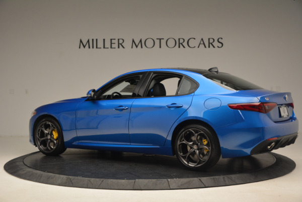 New 2017 Alfa Romeo Giulia Ti Sport Q4 for sale Sold at Rolls-Royce Motor Cars Greenwich in Greenwich CT 06830 4