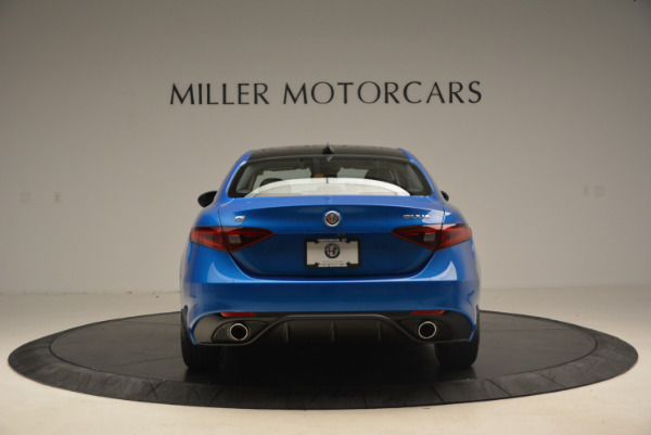 New 2017 Alfa Romeo Giulia Ti Sport Q4 for sale Sold at Rolls-Royce Motor Cars Greenwich in Greenwich CT 06830 6