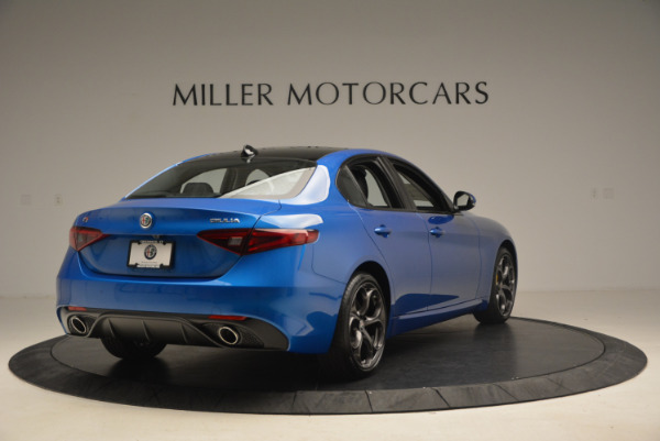 New 2017 Alfa Romeo Giulia Ti Sport Q4 for sale Sold at Rolls-Royce Motor Cars Greenwich in Greenwich CT 06830 7