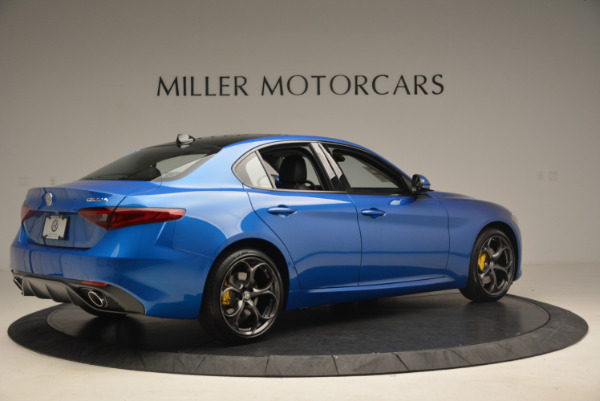 New 2017 Alfa Romeo Giulia Ti Sport Q4 for sale Sold at Rolls-Royce Motor Cars Greenwich in Greenwich CT 06830 8