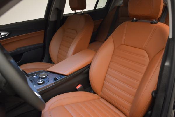 New 2017 Alfa Romeo Giulia Ti Lusso Q4 for sale Sold at Rolls-Royce Motor Cars Greenwich in Greenwich CT 06830 15