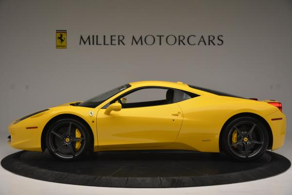 Used 2011 Ferrari 458 Italia for sale Sold at Rolls-Royce Motor Cars Greenwich in Greenwich CT 06830 3