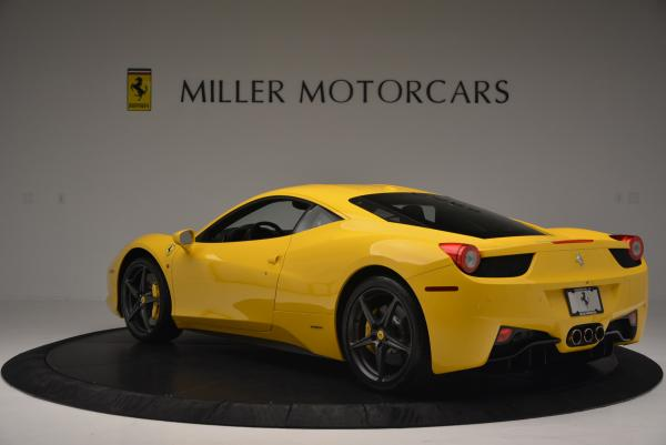 Used 2011 Ferrari 458 Italia for sale Sold at Rolls-Royce Motor Cars Greenwich in Greenwich CT 06830 5