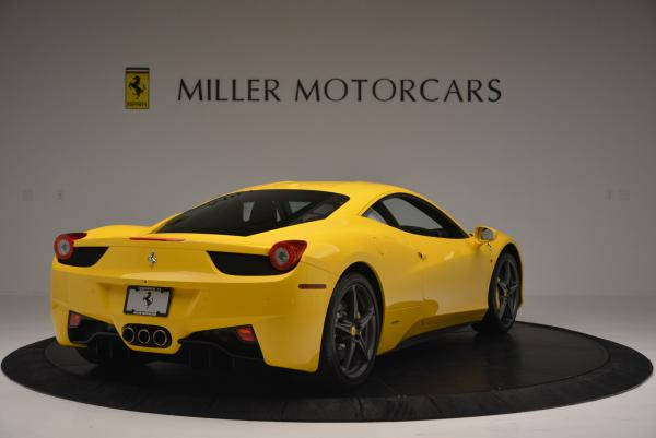 Used 2011 Ferrari 458 Italia for sale Sold at Rolls-Royce Motor Cars Greenwich in Greenwich CT 06830 7