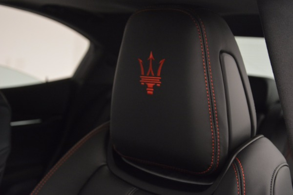 New 2017 Maserati Ghibli SQ4 for sale Sold at Rolls-Royce Motor Cars Greenwich in Greenwich CT 06830 22