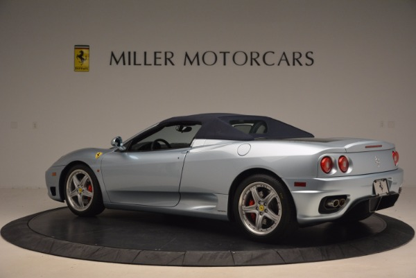 Used 2003 Ferrari 360 Spider 6-Speed Manual for sale Sold at Rolls-Royce Motor Cars Greenwich in Greenwich CT 06830 16