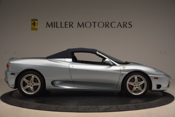 Used 2003 Ferrari 360 Spider 6-Speed Manual for sale Sold at Rolls-Royce Motor Cars Greenwich in Greenwich CT 06830 21
