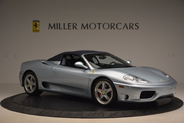 Used 2003 Ferrari 360 Spider 6-Speed Manual for sale Sold at Rolls-Royce Motor Cars Greenwich in Greenwich CT 06830 22