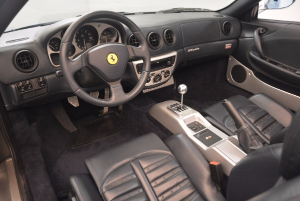 Used 2003 Ferrari 360 Spider 6-Speed Manual for sale Sold at Rolls-Royce Motor Cars Greenwich in Greenwich CT 06830 25