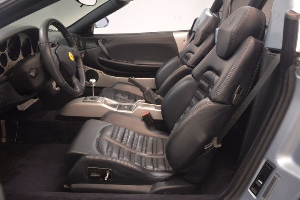 Used 2003 Ferrari 360 Spider 6-Speed Manual for sale Sold at Rolls-Royce Motor Cars Greenwich in Greenwich CT 06830 26