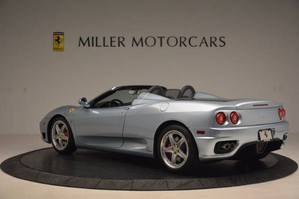 Used 2003 Ferrari 360 Spider 6-Speed Manual for sale Sold at Rolls-Royce Motor Cars Greenwich in Greenwich CT 06830 4