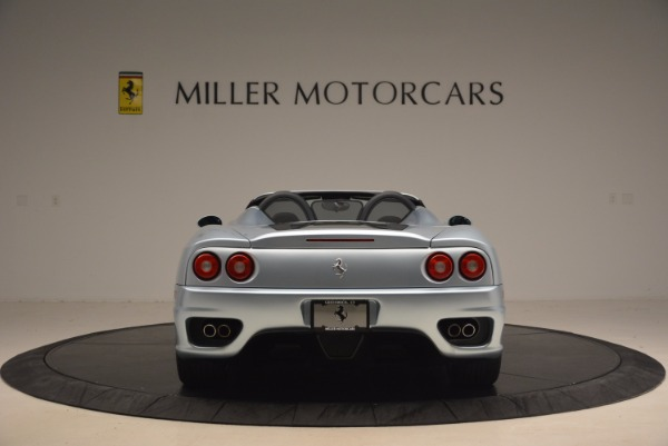 Used 2003 Ferrari 360 Spider 6-Speed Manual for sale Sold at Rolls-Royce Motor Cars Greenwich in Greenwich CT 06830 6