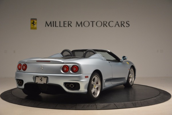 Used 2003 Ferrari 360 Spider 6-Speed Manual for sale Sold at Rolls-Royce Motor Cars Greenwich in Greenwich CT 06830 7