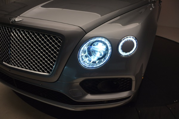 New 2018 Bentley Bentayga Onyx for sale Sold at Rolls-Royce Motor Cars Greenwich in Greenwich CT 06830 17