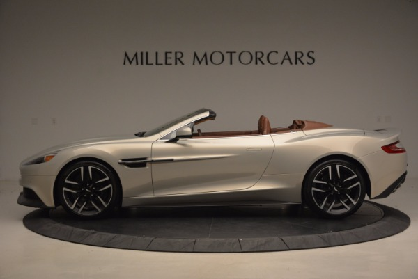 Used 2015 Aston Martin Vanquish Volante for sale Sold at Rolls-Royce Motor Cars Greenwich in Greenwich CT 06830 3