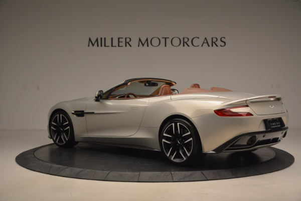 Used 2015 Aston Martin Vanquish Volante for sale Sold at Rolls-Royce Motor Cars Greenwich in Greenwich CT 06830 4