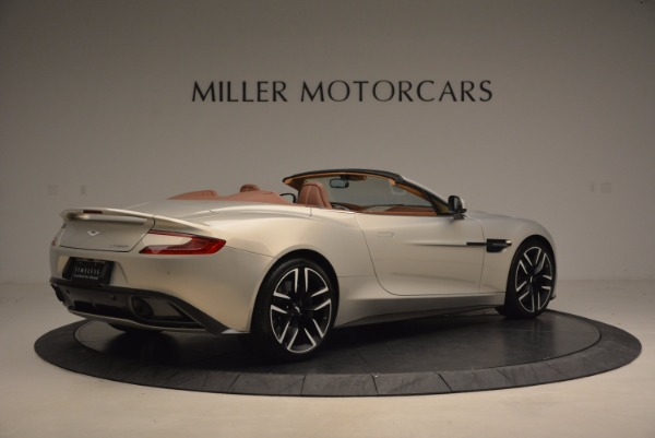 Used 2015 Aston Martin Vanquish Volante for sale Sold at Rolls-Royce Motor Cars Greenwich in Greenwich CT 06830 8